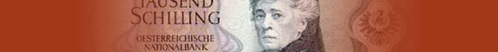Bertha von Suttner on paper money