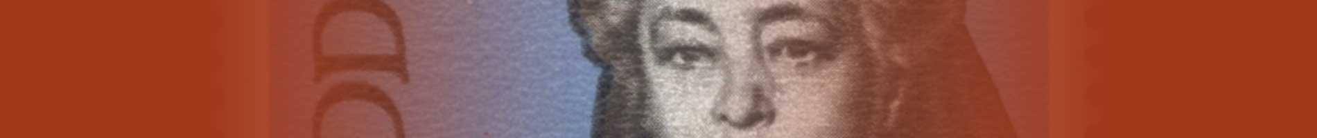 Bertha von Suttner on a stamp